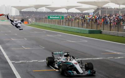 China extends with Formula One for a further three years