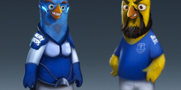 Everton trio become first footballers to feature in Angry Birds game