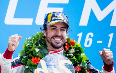 Fernando Alonso secures image rights with blockchain platform