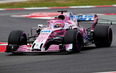 Force India drive home double deal