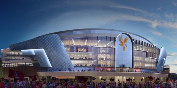 Crystal Palace given green light for UK£100m stadium redevelopment