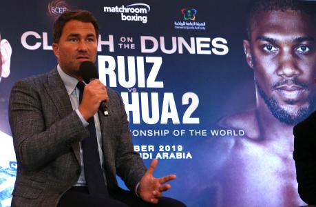 At Large: Anthony Joshua's latest challenge confirms Saudi Arabia's heavyweight influence