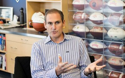 Pac-12 commissioner Larry Scott: 'I'm a voracious reader about leaders. David Stern is my mentor'