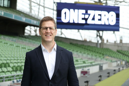 Patrick Haslett on how One-Zero will explore change across the sports industry