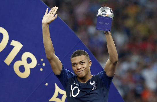 Kylian Mbappé tops Manchester duo as world's most valuable U21 player