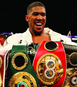 50 Most Marketable 2018 - Anthony Joshua