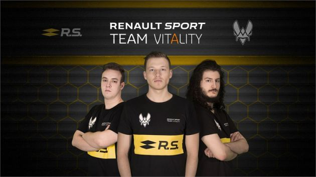 Renault Racing and Vitality gear up for esports team