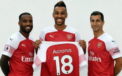 Arsenal sign global data agreement with Acronis