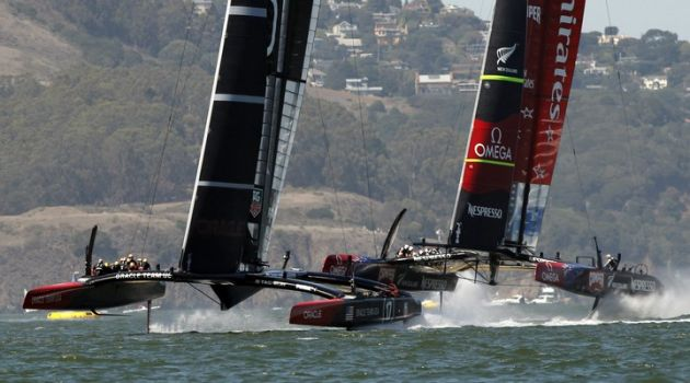 Travis Perkins builds Americas Cup World Series partnership