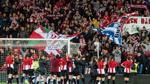 528db635acc8a Athletic Bilbao set European women s soccer attendance record ...