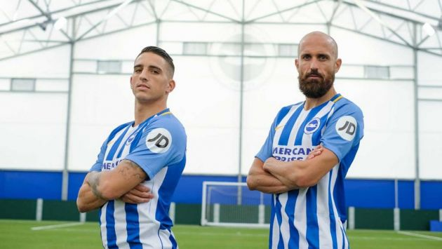 Brighton announce first-ever shirt sleeve sponsor