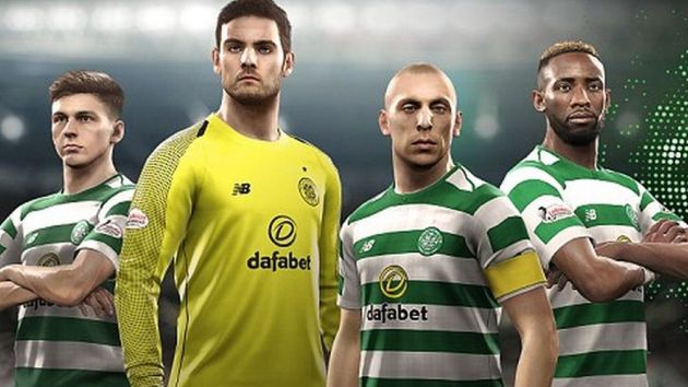 Celtic partner with Konami for limited PES edition