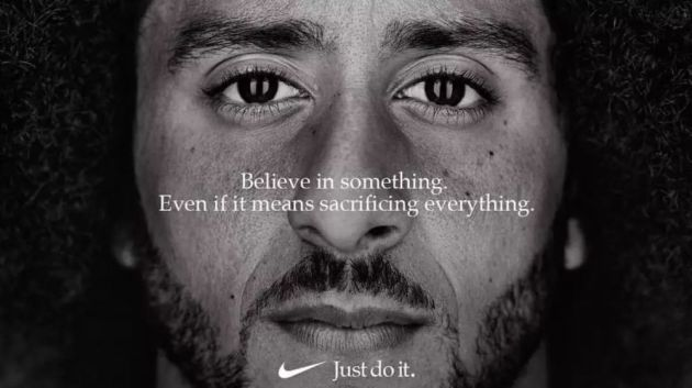 Colin Kaepernick fronts new Nike advertising campaign