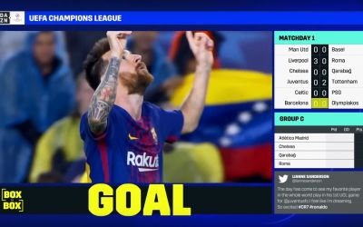 DAZN launches 'Redzone-style' Champions League service