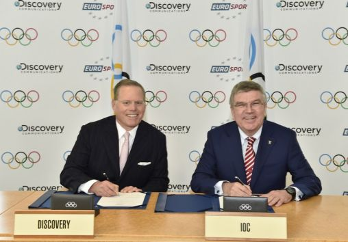 Discovery takes European Olympic rights in €1.3 billion deal