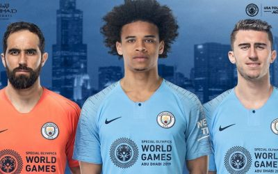 Manchester City sign Special Olympics one-game shirt sponsorship