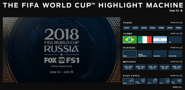 Fox Sports and IBM team up for AI World Cup highlights platform