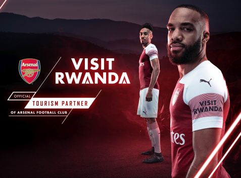 Arsenal jet off with Visit Rwanda for first sleeve deal