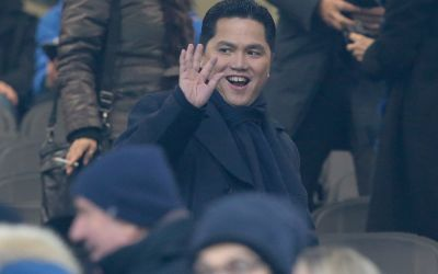 Report: Inter Milan owner Suning set to buy out Erick Thohir's shares