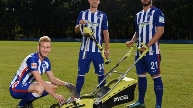 Ryobi extends partnership with Hertha Berlin
