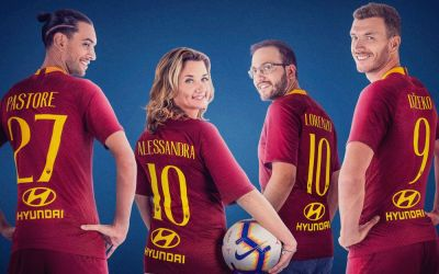 Roma confirm Hyundai back-of-shirt sponsorship