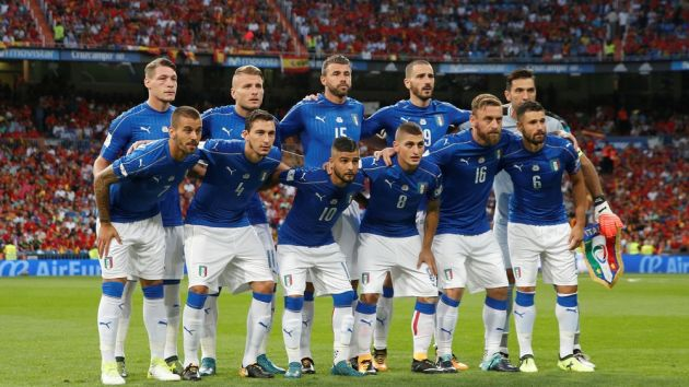italian national soccer team keeps things sweet with