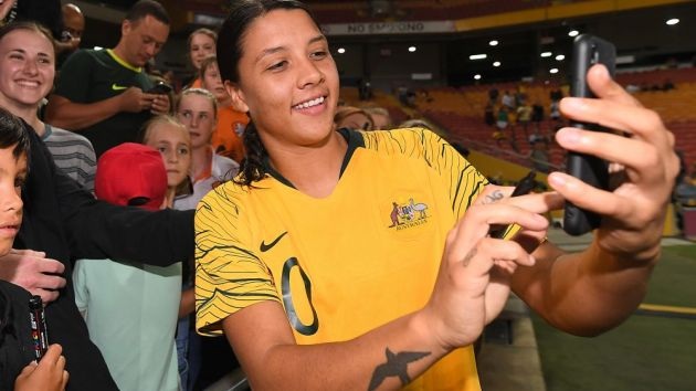 Sam Kerr to bank AUS$1m in 2019 as Nike's new Australian