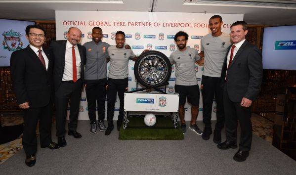 Liverpool ink global Falken Tyres partnership