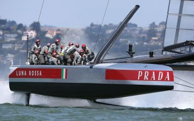 Pirelli comes on board with Luna Rossa for America's Cup challenge