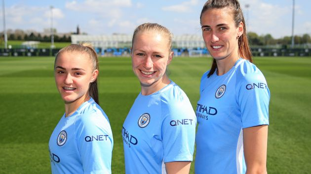 Manchester City women in WSL first with sleeve sponsorship