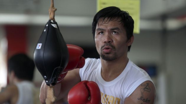 Manny Pacquiao's Top Rank rights row 'resolved'