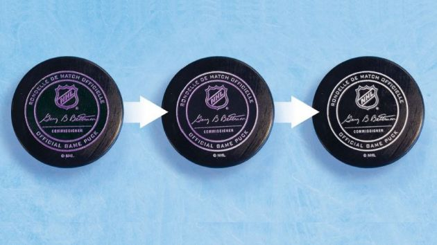 NHL test colour-changing pucks in Winter Classic - SportsPro