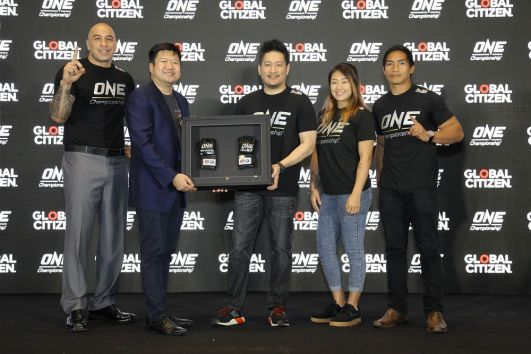 ONE Championship teams up with Global Citizen