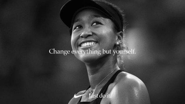 World No 1 Osaka Signs with Nike