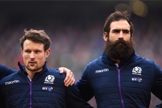 Scottish Rugby Union raises a glass of Eden Mill