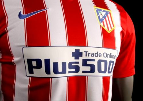Atlético Madrid tie up Plus500 deal