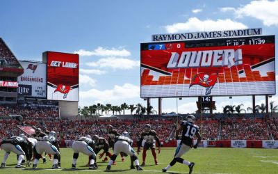 Bucs stadium named NFL's best for technology experience