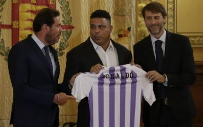 Confirmed: Ronaldo buys Real Valladolid for €30m