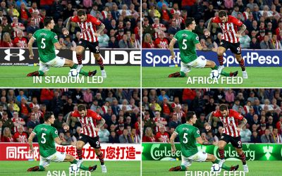Southampton install pitchside AR advertising boards