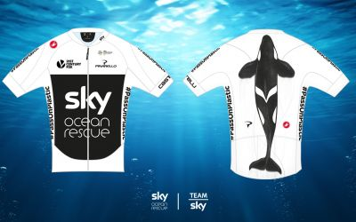 Team Sky saddle up with GumGum to track Ocean Rescue campaign