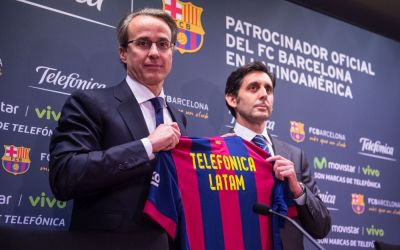 Telefonica ends Real Madrid and Barcelona sponsorships