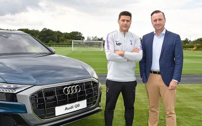 Tottenham strap in with Audi deal