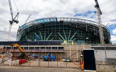 New Tottenham stadium may not open until February 2019