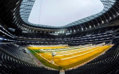 Tottenham reveal revolutionary pitch technology at new stadium