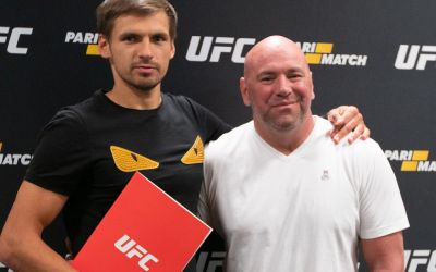 UFC takes a bet with Parimatch deal