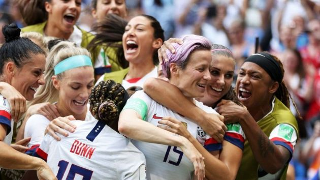 USWNT victory tour kicks off US Soccer's Allstate deal
