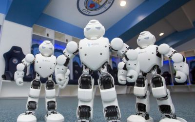 Manchester City renew with robot partner Ubtech