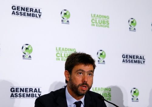 Juventus president Andrea Agnelli suspended for one year