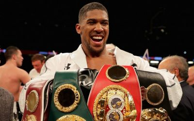 Anthony Joshua lands three-year Matchroom extension