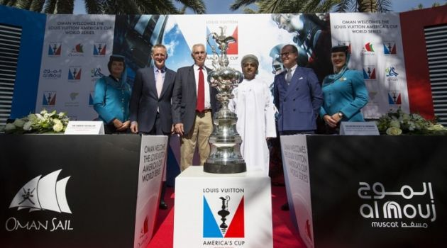 Oman and New York to host America's Cup regattas